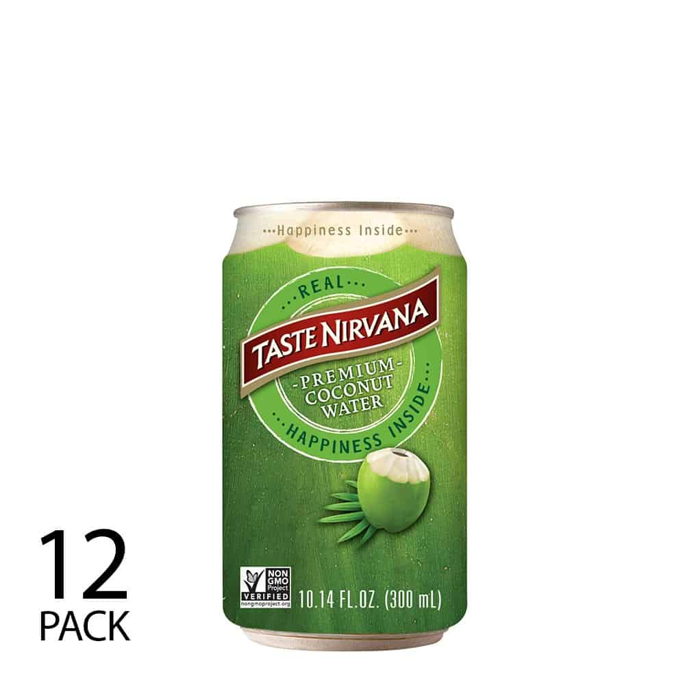 Real Coconut Water [10.5 oz Can] (Pack of 12)