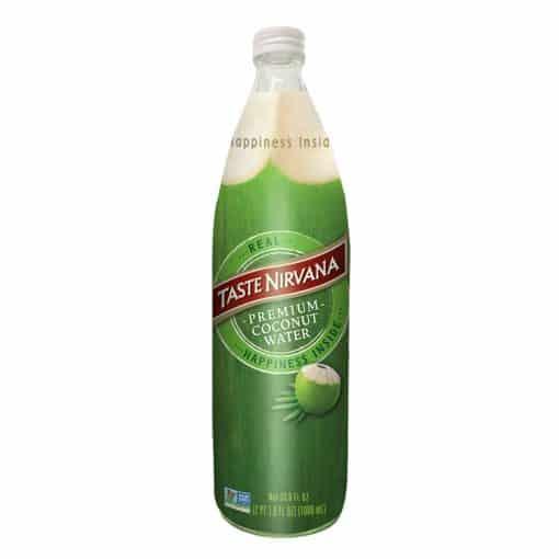 Real Coconut Water 1000ml Glass Bottle